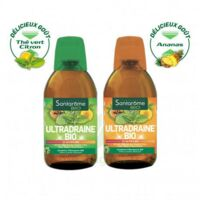 Ultradraine Bio Solution buvable Thé vert citron Fl/500ml à QUEVERT