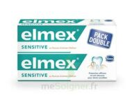 ELMEX SENSITIVE DENTIFRICE, tube 75 ml, pack 2 à QUEVERT