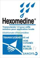 HEXOMEDINE TRANSCUTANEE 1,5 POUR MILLE, solution pour application locale à QUEVERT