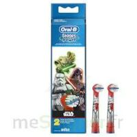 Oral-B Stages Power Star Wars 2 brossettes à QUEVERT