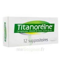TITANOREINE Suppositoires B/12 à QUEVERT