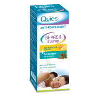 Quies Bi-Pack 2 Sprays buccal et nasale anti-ronflement à QUEVERT